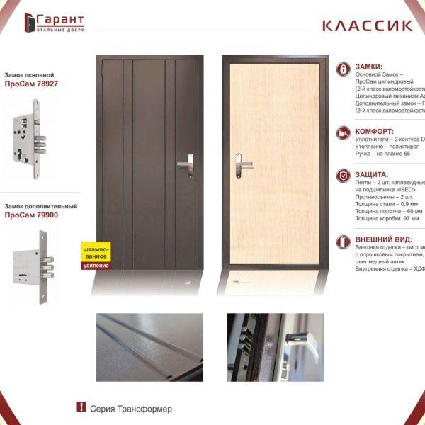 металлические двери фирма гарант